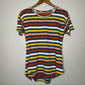 Madewell Fitted Striped Tee